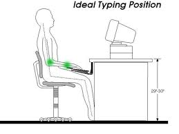 good typing ergonomics