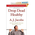 Drop Dead Healthy author A.J. Jacobs wrote his last book on a treadmill desk
