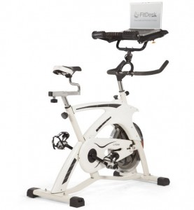 FitDesk Executive Trainer Bicycle Desk