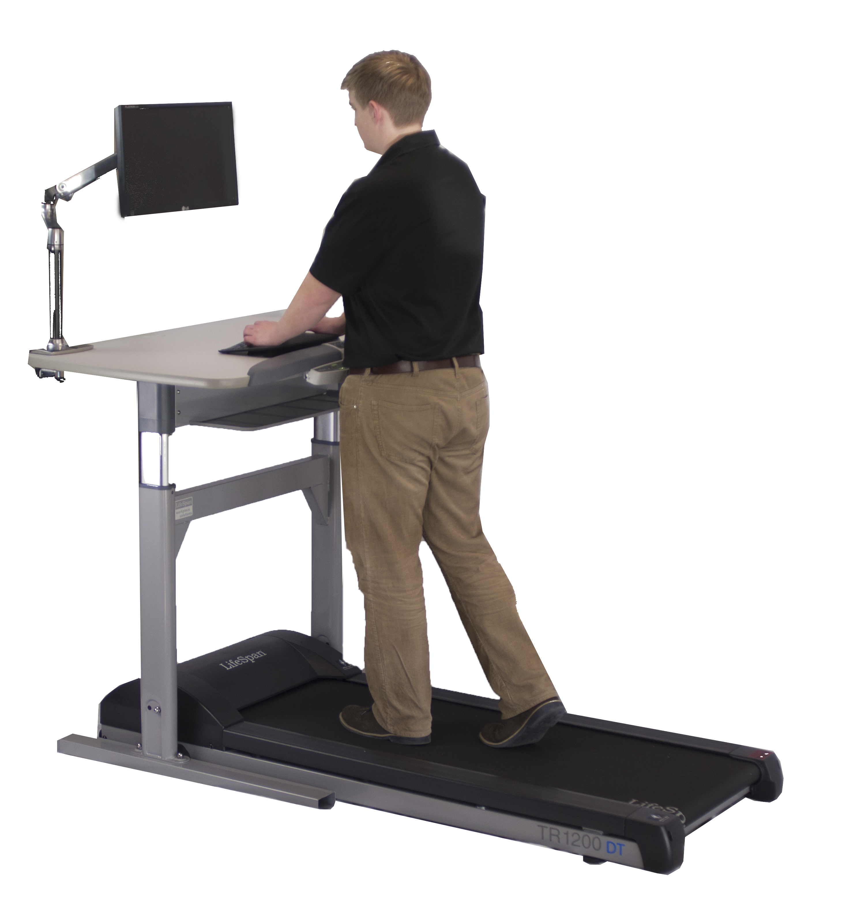LifeSpan Integrated Treadmill Desk