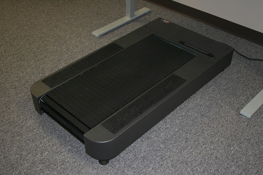 Woodway Deskmill Treadmill Desk