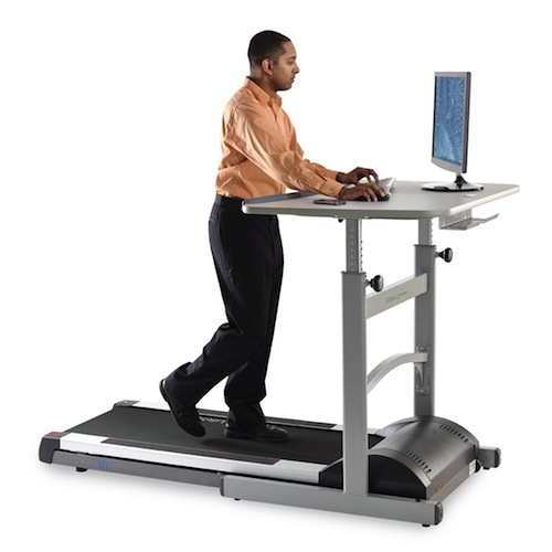 How many treadmill desks are in use today