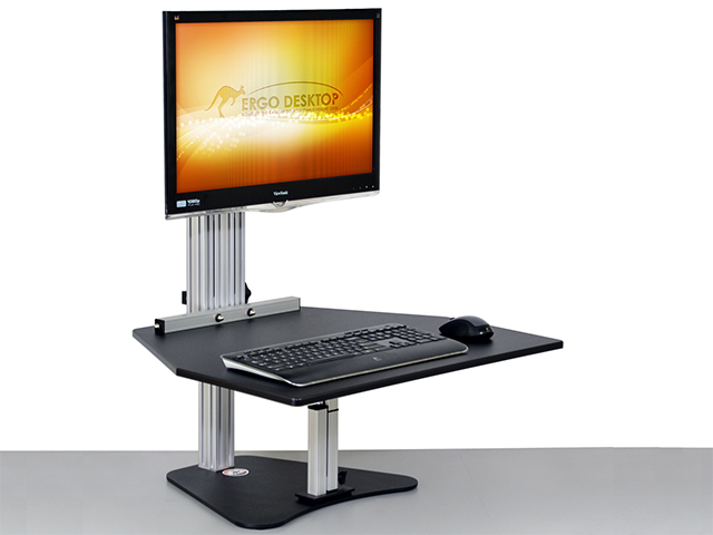 Ergo Desktop Wallaby Sit Stand Converter