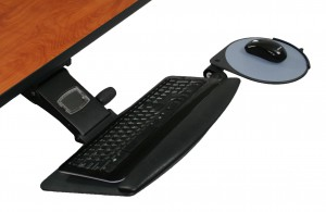 iMovr paired ISE Leader 5 Keyboard Tray