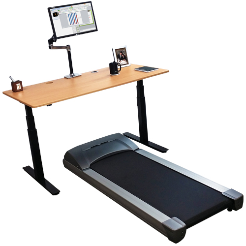 iMovR Electra Standing Desk for Treadmill Desk Use