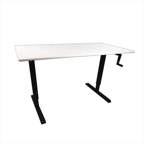iMovR Elemental Stand Up Desk -White