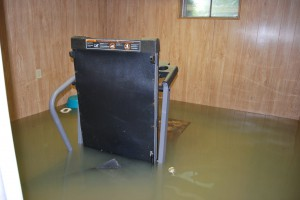 Submerged Water Damaged Treadmill