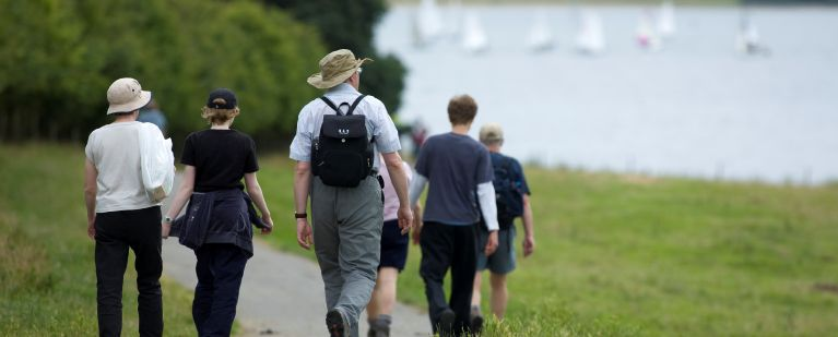 Consider joining a walking group, or participating in walking events, to get a few thousand extra steps in per day.