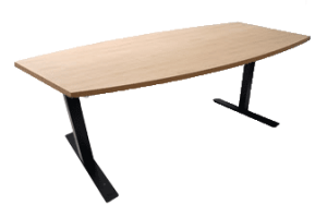 Adjustable-height Conference Table