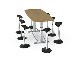 Confluence Adjustable Height Table