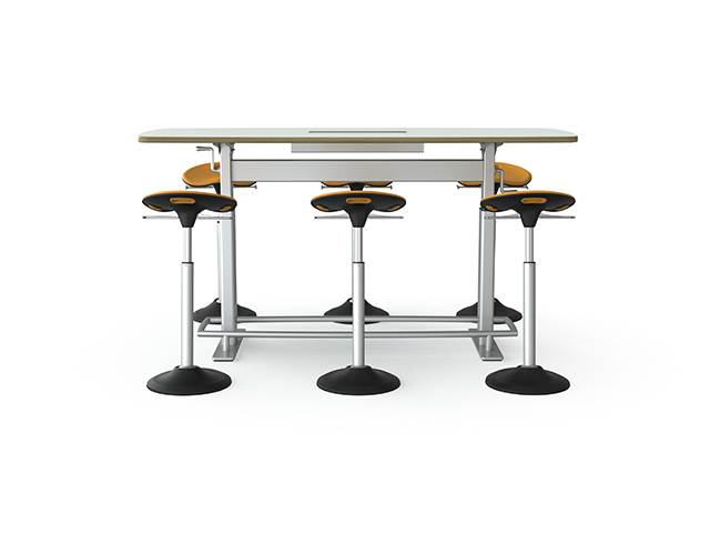 Focal Upright Confluence AdjustableHeight Conference Table Review - Adjustable height conference table