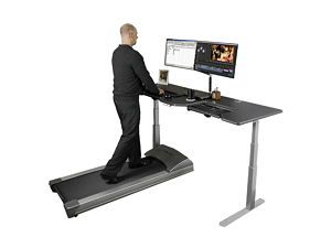 Treadmill Desks keep workers healthy