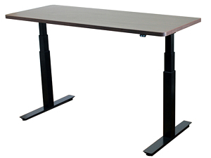 Uprise Adjustable-Height Standing Desk