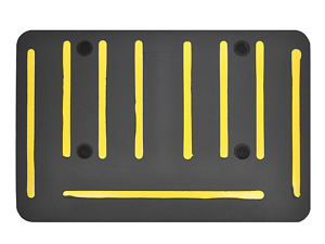 EcoLast Dual Gripper Underside anti-fatigue mat