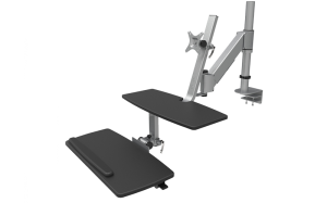 ESI's new Climb Sit-Stand Workstation