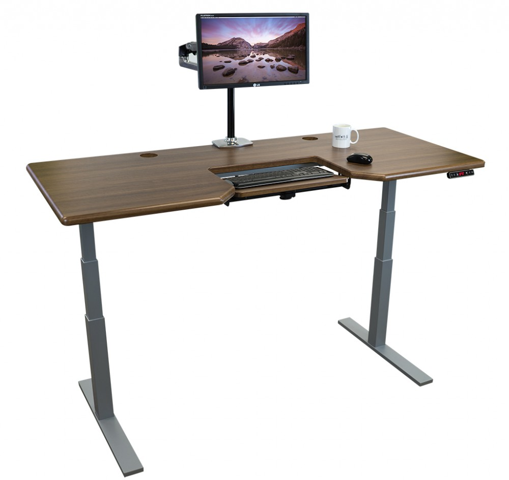 Imovr Olympus Adjustable Height Stand Up Desk Review
