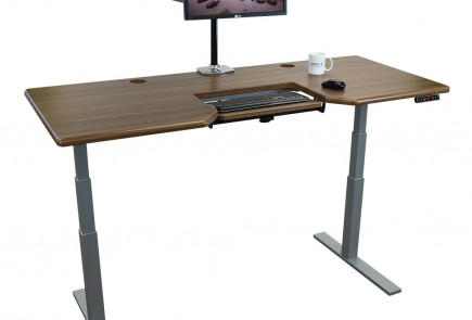 Stand Up Desk Omega Olympus with SteadyType Keyboard Tray