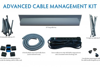 Cord Management Kit 32 Pieces