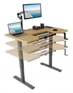 Manual Adjustable Height Standing Desk Comparison Review