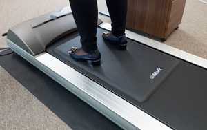 TreadTop anti-fatigue mat for treadmill, treadmill desk mat