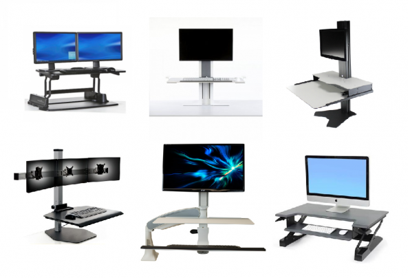 Image result for sit stand desk converter