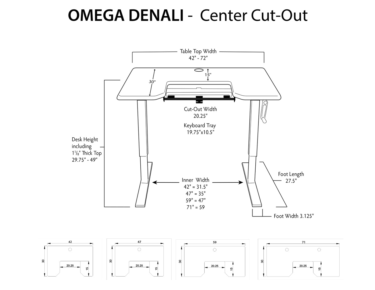 Imovr Omega Denali Standing Desk Review