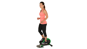 Elliptical trainer reviews on Amazon point to difficulty balancing in standing mode, among other issues with the feature...