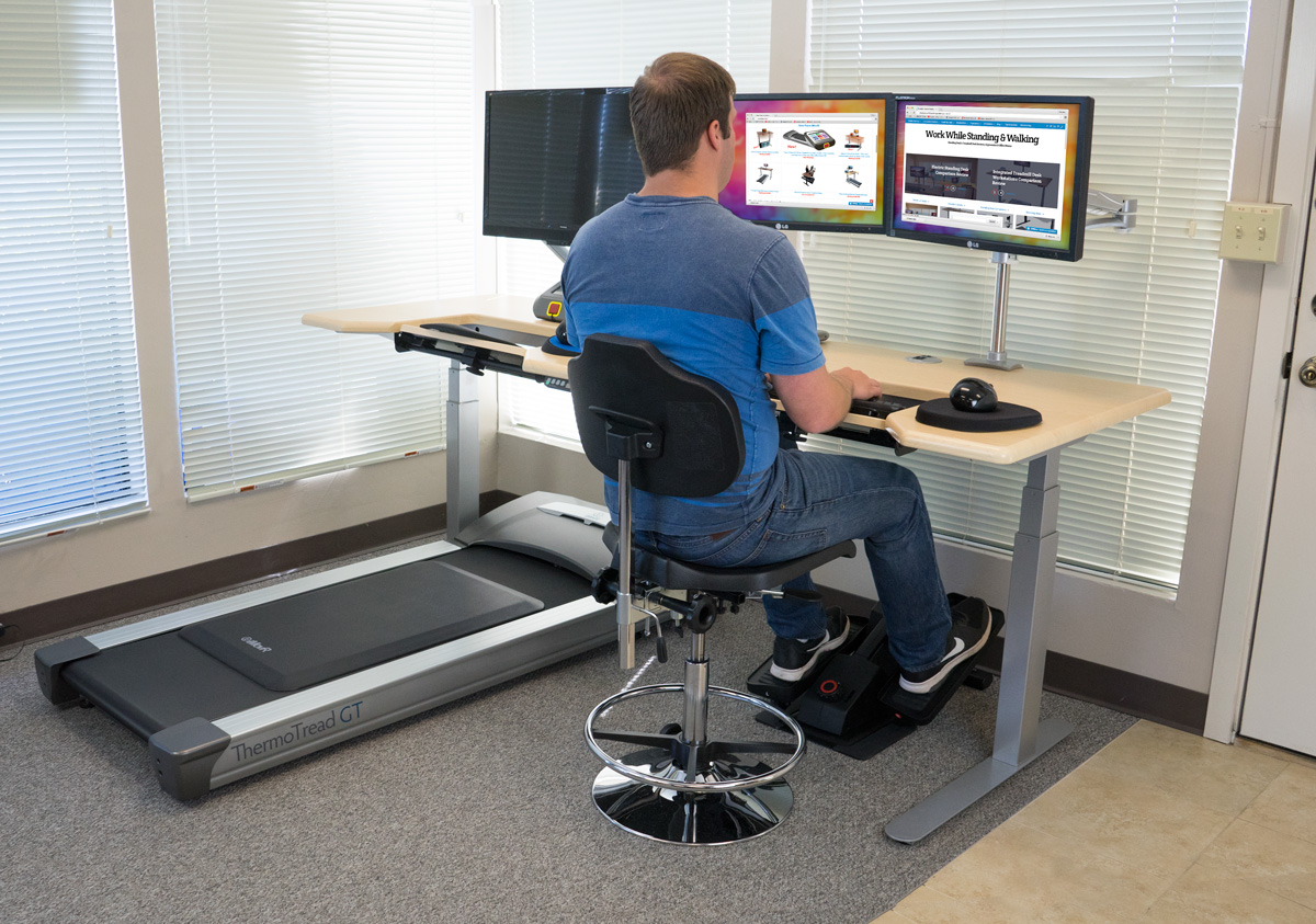 The Quad Modal Office Fitness Dreamstation Sit Stand