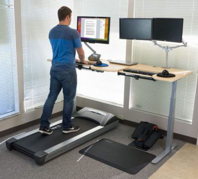 treadmill desk or bike desk?