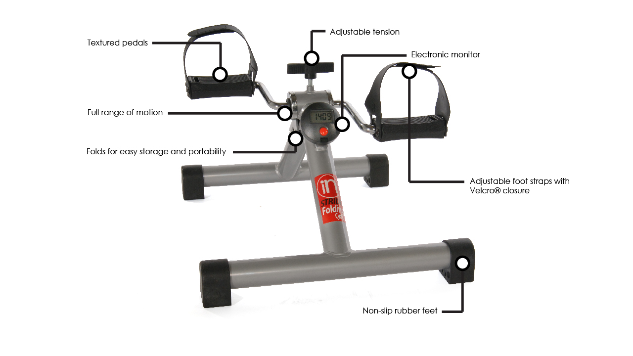 Stamina InStride Folding Cycle Features