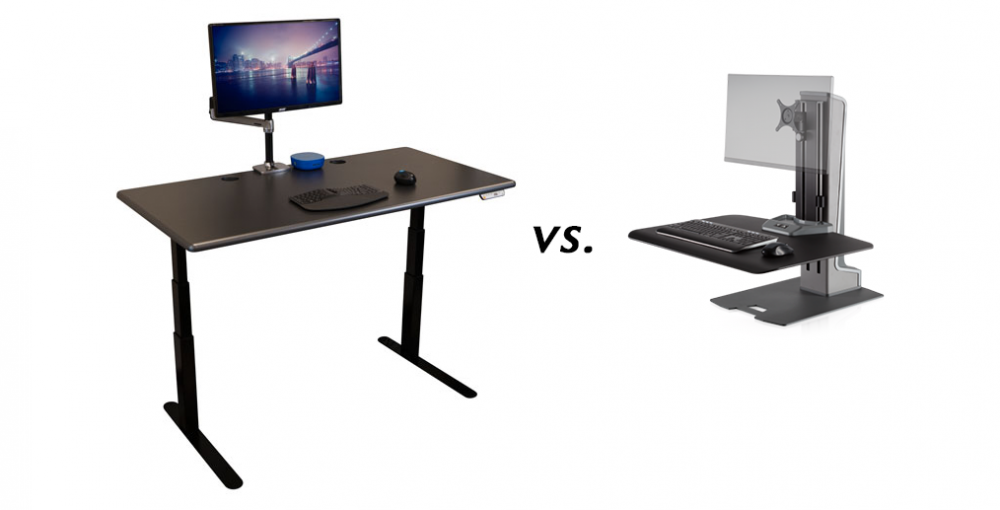 Should I Buy a Standing Desk or a Standing Desk Converter?