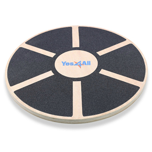 Yes4All Wooden Wobble Balance Trainer