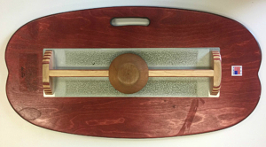 VewDo Zone Fitness Mahogany with a wood wobble base