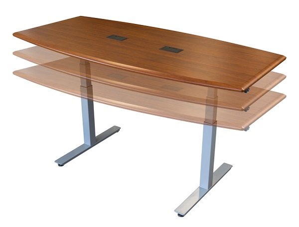 Top Adjustable Height Conference Table Reviews - Height adjustable meeting table