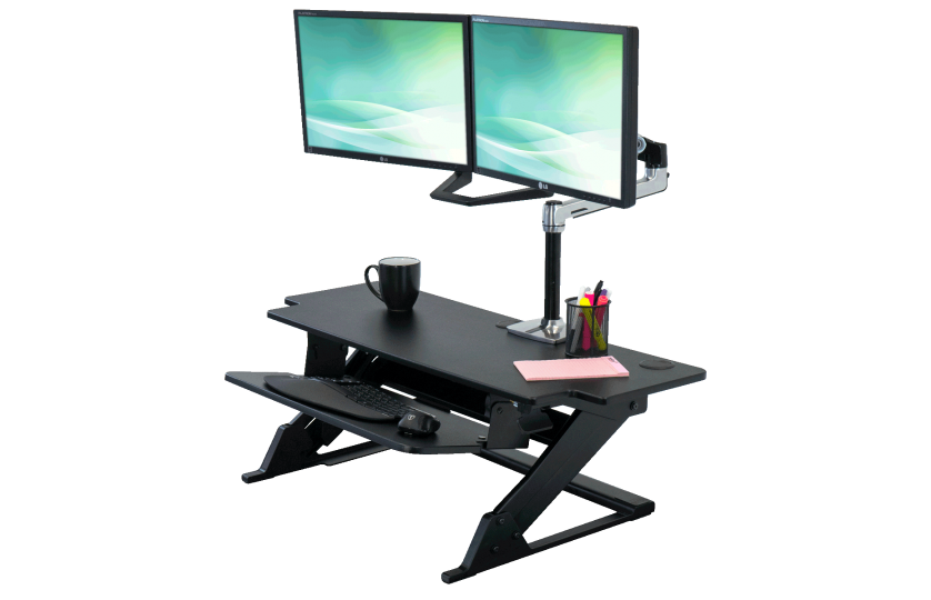 Ziplift+ HD stand up desk converter