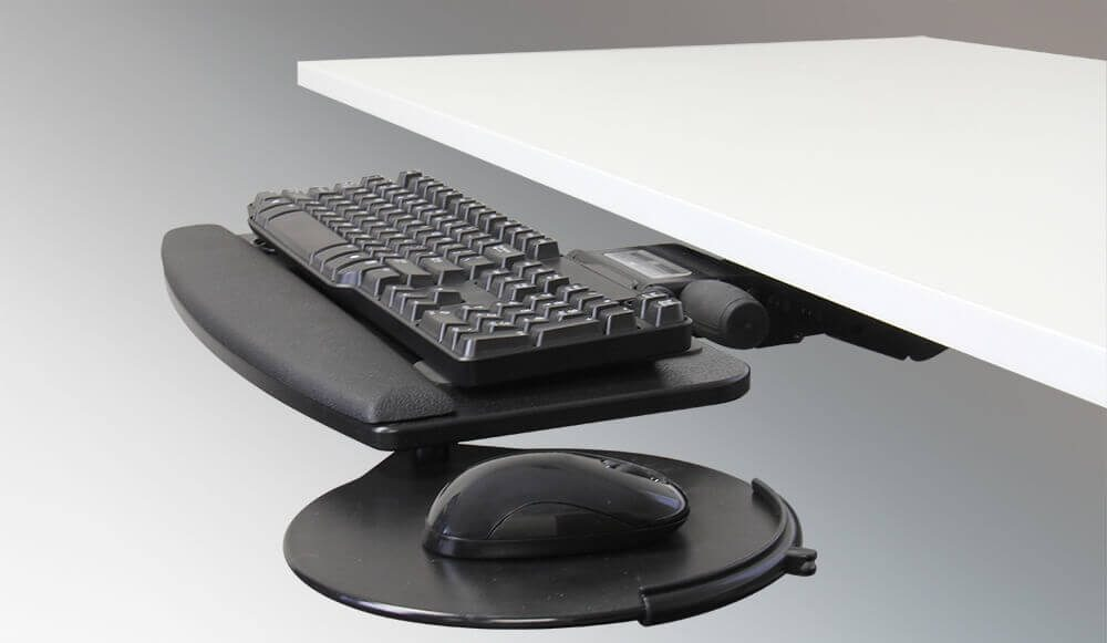 Imovr Trackless Under Desk Keyboard Tray Review