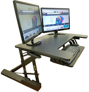 Lorell Sit-to-Stand Monitor Risers
