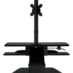 MountIt Sit-Stand Desk monitor mount
