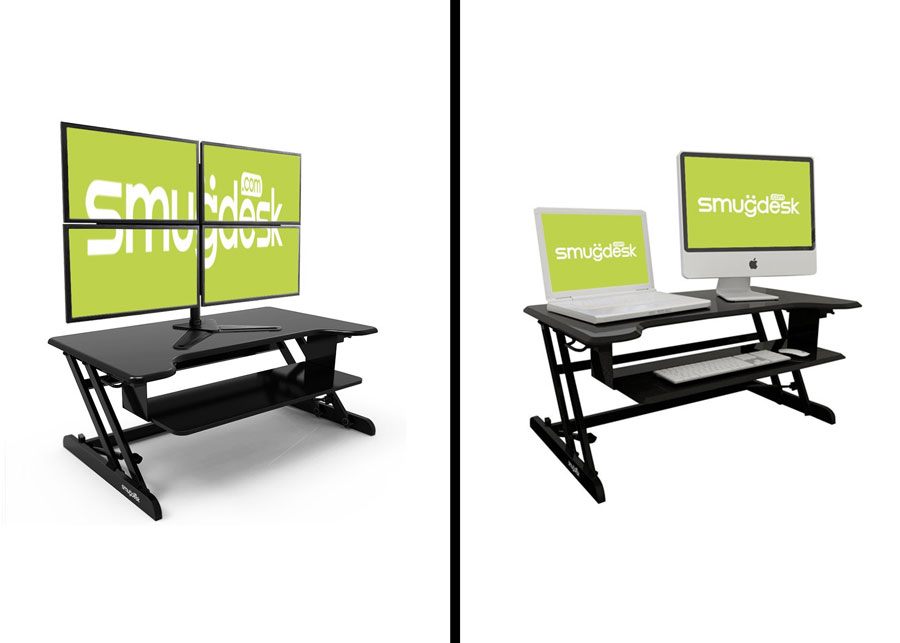 Smugdesk Stand Up Desk Converters