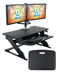 ZipLift+ Sit-Stand Desk Converter