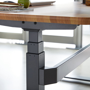 Close up photo of the Varidesk electric standing desk