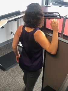 Standing Desk Stretches - Chest Opener 2