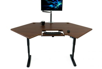 corner standing desk review