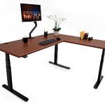 imovr lander l-shaped standing desk review