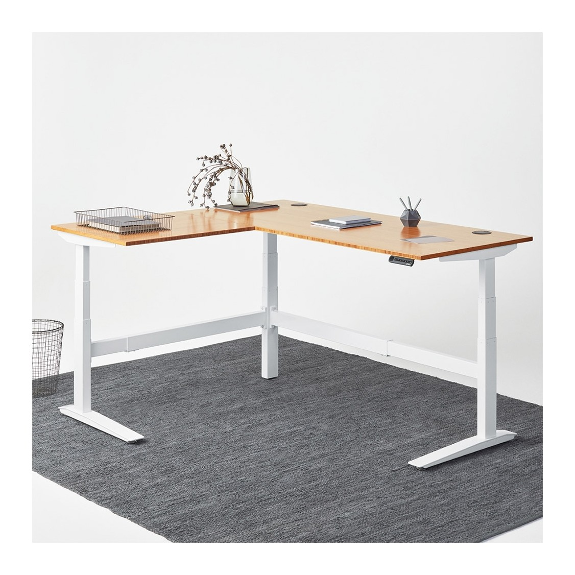 Picture of: Jarvis Standing L Desk Review