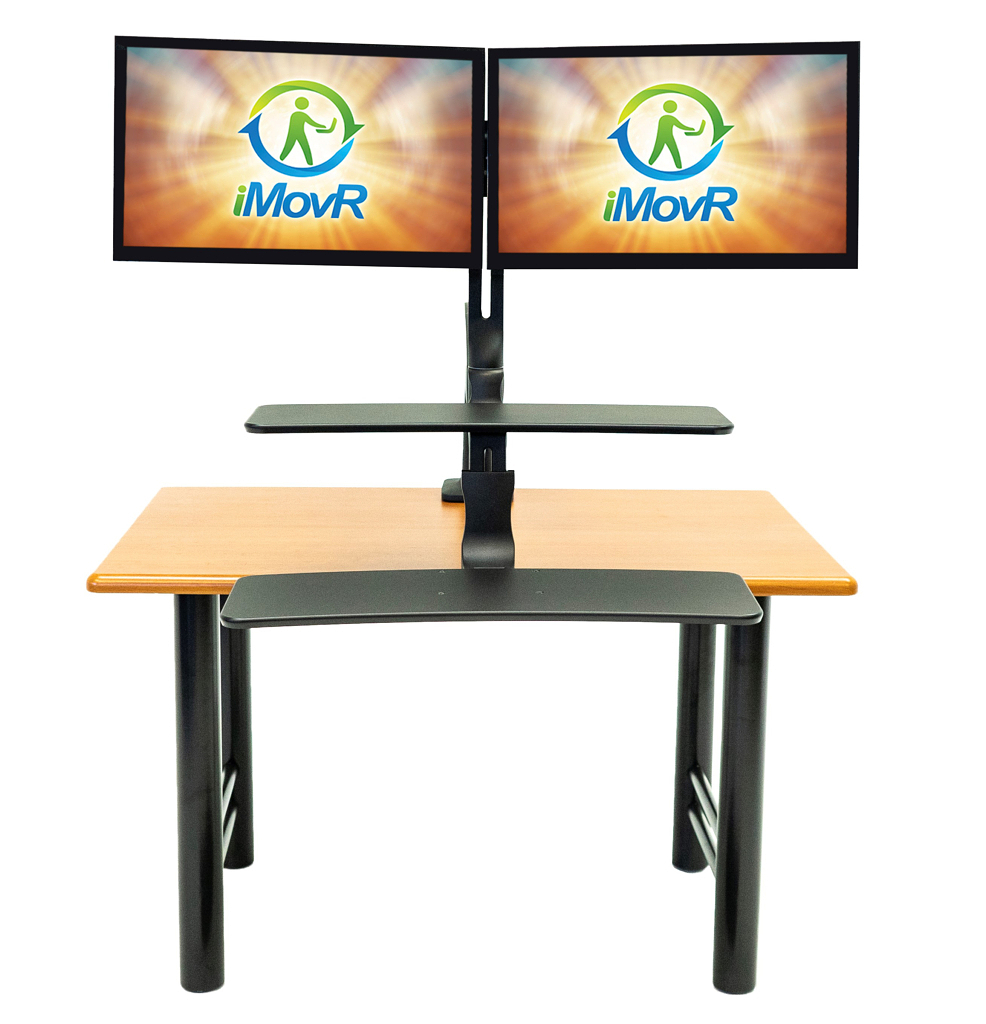 Cadence Plus Standing Desk Converter - Dual Monitors
