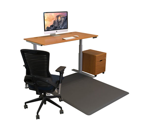 sit-stand chair mat