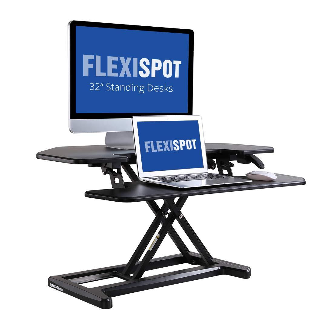 Flexispot AlcoveRiser Corner Standing Desk Converter