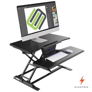 Eureka Electric Standing Desk Converter