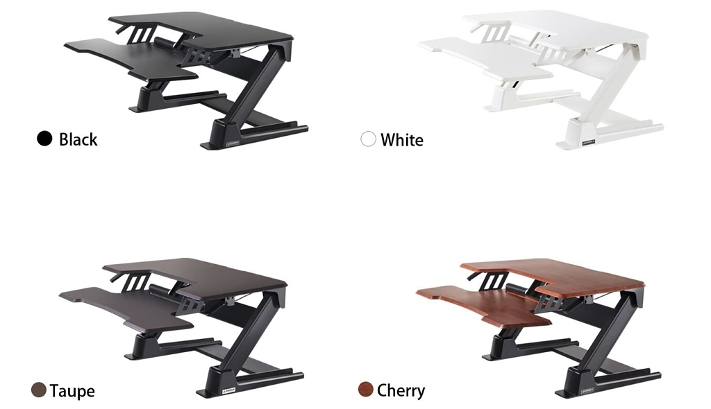 Eureka 36 Standing Desk Converter Color_Options